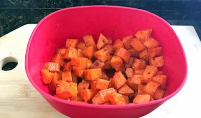 cenoura assada forno