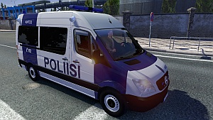 Fin Police and Ambulance AI cars