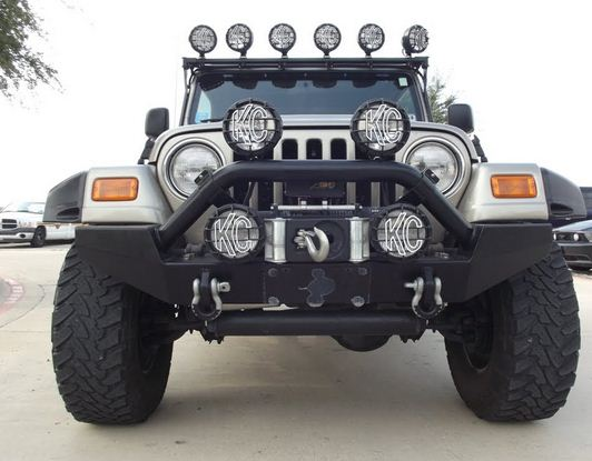 jeep wrangler KC lights