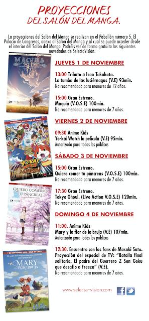 Actividades de Selecta Visión en el Salón del Manga de Barcelona.