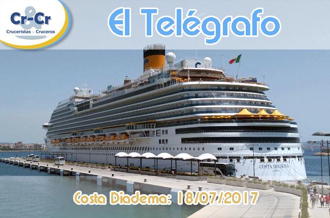EL TELÉGRAFO - SEGUNDO DÍA - COSTA DIADEMA 17/07/2017 AL 24/07/2017