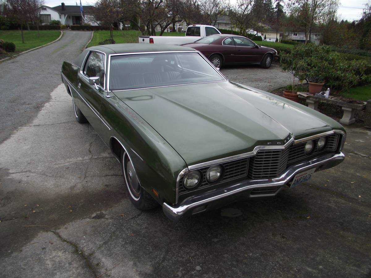 daily turismo green monster 1972 ford galaxie 500. Black Bedroom Furniture Sets. Home Design Ideas