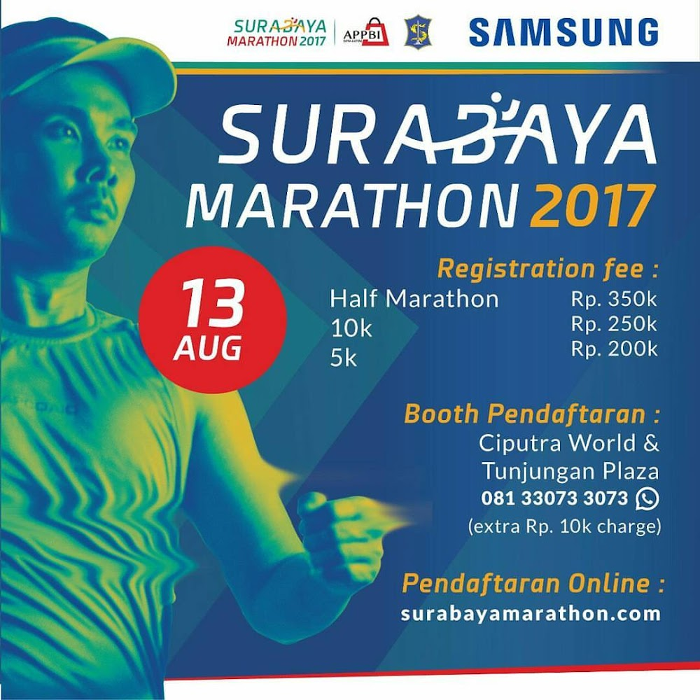 Surabaya Half Marathon • 2017 • 2017