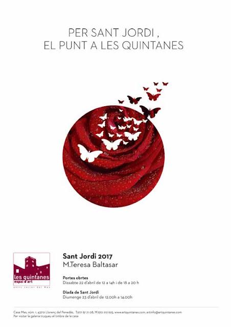 Esguard de Dona - Exposició de Sant Jordi 2017 a l'Espai d'Art Les Quintanes a Llorenç del Penedès