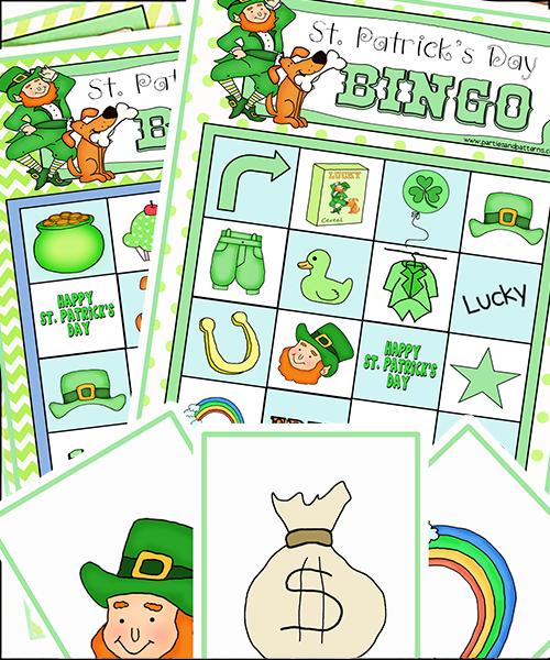 graphic relating to St Patrick's Day Bingo Printable known as Printable Bingo Video games \