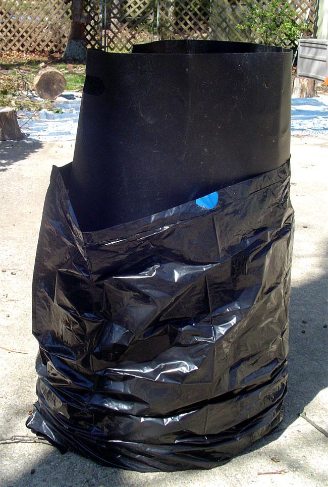 Bag Gloves Images: Leaf Bag Holders