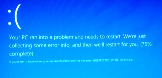How to fix Unexpected Store Exception BSOD