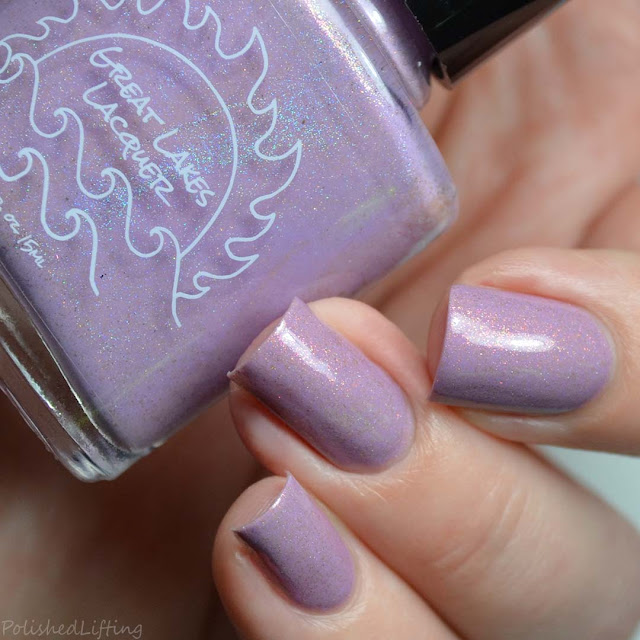 purple nail polish