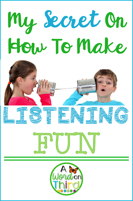 My Secret On How To Make Listening Fun by A Word On Third