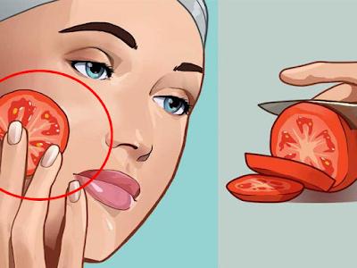 Que se passe-t-il si on frotte une tomate sur le visage tous les soirs ...