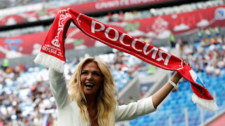 Lopyryova asked Putin to attend World Cup 2018 Russia - Egypt