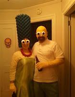 Los Simpsons disfraces para parejas