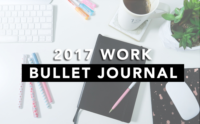 minimal bullet journal setup