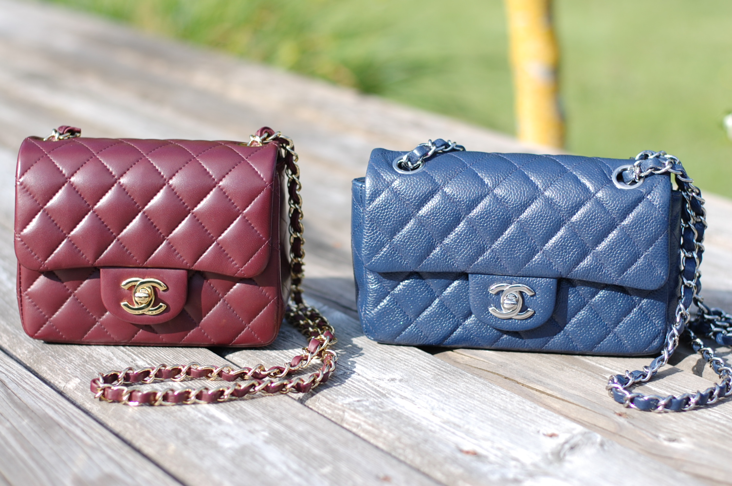 b5b24097da0a Chanel Timeless Classic Mini Flap handbags: A friendly comparison ...