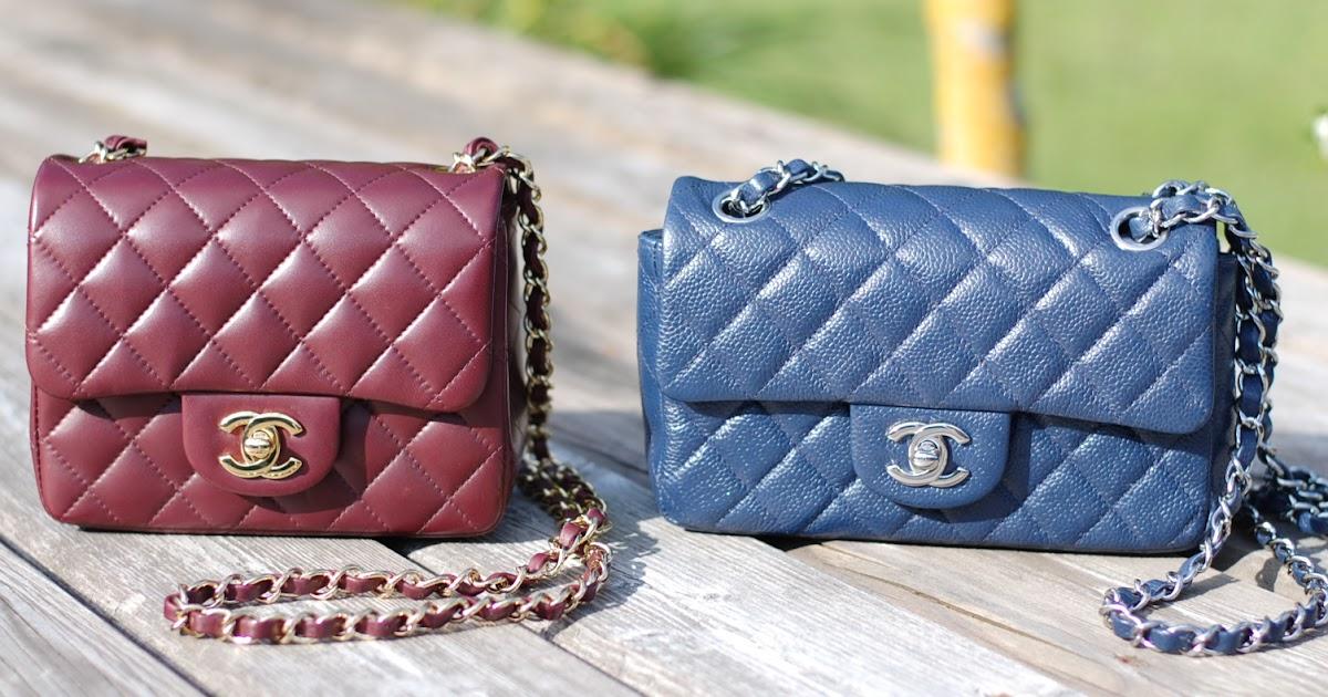 542c84c50534 Chanel Timeless Classic Mini Flap handbags: A friendly comparison | Covet &  Acquire