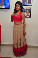 Akshita super cute Pink Choli at south indian thalis and filmy breakfast in Filmy Junction inaguration by Gopichand ~  Exclusive 020.JPG