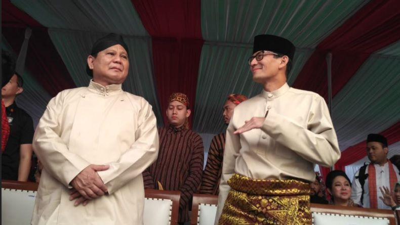 Sandi Awali Kampanye dari Kandang Banteng
