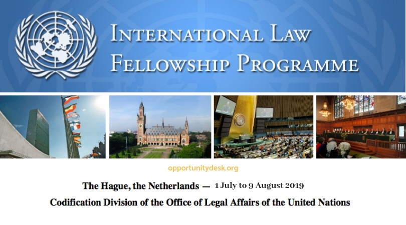 United Nations International Law Fellowship 2019 at The