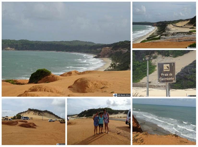 Praia da Cacimbinha - O que fazer na Praia da Pipa - Rio Grande do Norte