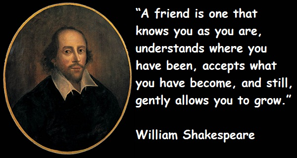 William Shakespeare understand quote