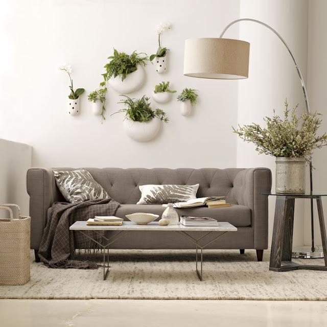 Wall Planters Dari Bahan Keramik untuk dalam rumah