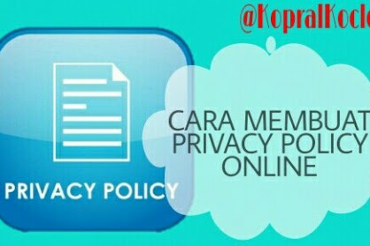 Cara Membuat Privacy Policy Online Gratis