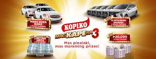 Kopiko promo, Kopiko contest