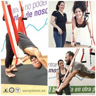 AeroPilates® Colombia: Cursos Formación Profesores Pilates Aéreo en Columpio