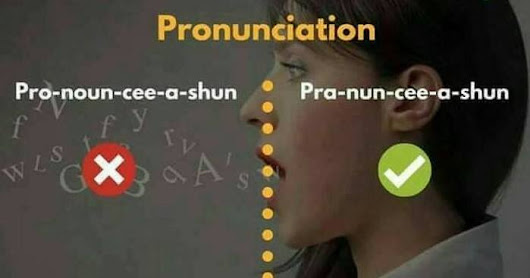 Talking about pronunciation