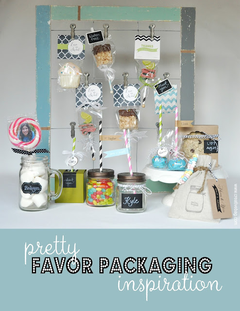 diy party and wedding favor ideas using packaging products from Creative Bag