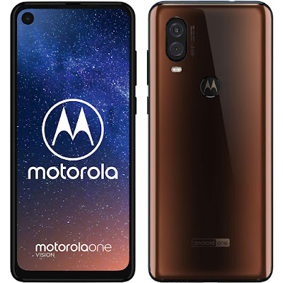 Motorola One Vision marrón