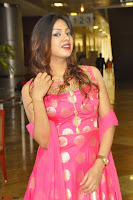 Sindhu Shivarama in Pink Ethnic Anarkali Dress 11.JPG