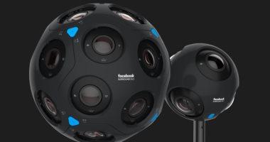 فيس بوك تكشف عن كمرتين  Surround 360 للواقع الافتراضى
