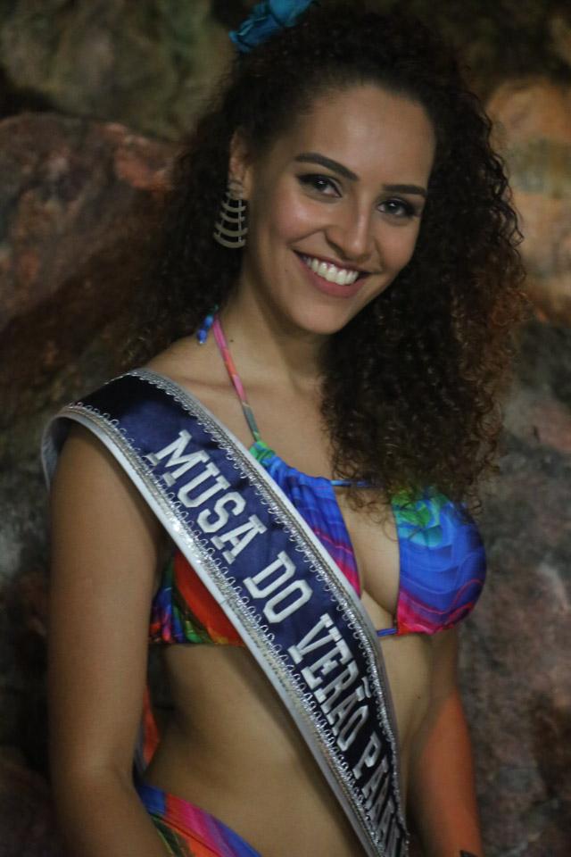 Larissa Damas, Musa do Verão Paranaense 2018. Foto: Arnaldo Silveira