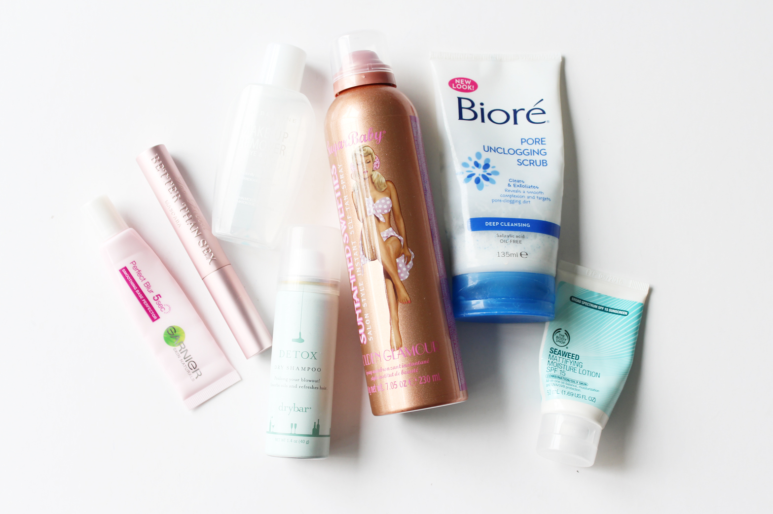 EMPTIES | April '15 - Too Faced, The Body Shop, Garnier, Sugarbaby, Biore, Anatomicals, Makeup Revolution + More - CassandraMyee