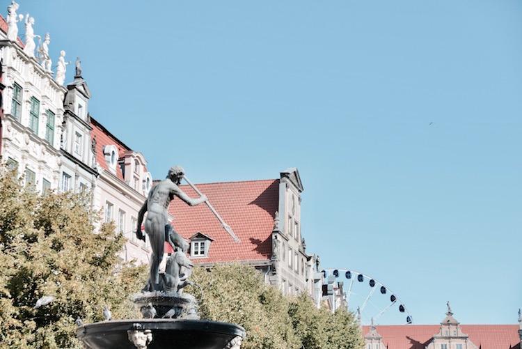 gdańsk ciekawe miejsca, gdańsk zabytki, Gdańsk Gdzie zjeść, gdańsk neptun, gdańsk co zobaczyć,