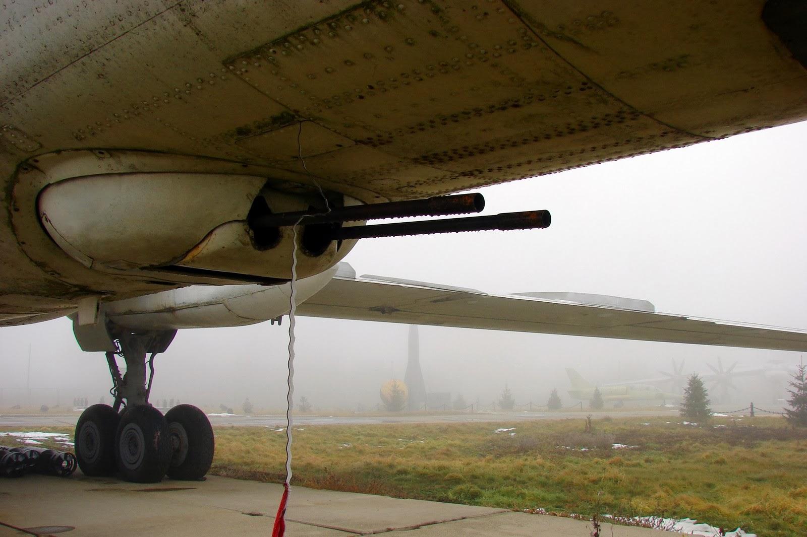 Ту-16: пушки под фюзеляжем