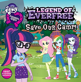MLP Equestria Girls: The Legend of Everfree Storybook Book Media