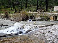 slapovi u uvali Prvlja, Postira otok Brač slike