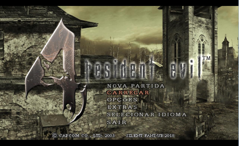 Patch - Resident Evil 4 Dublado e Legendado - PC | Silent Fandub