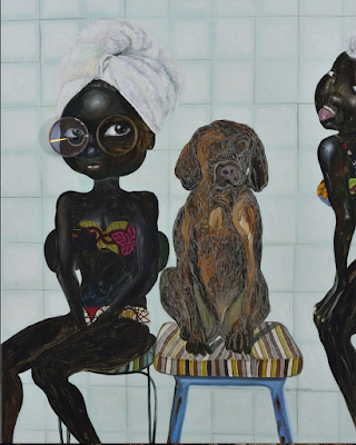 Two Girls and a Dog (2017), Ndidi Emefiele
