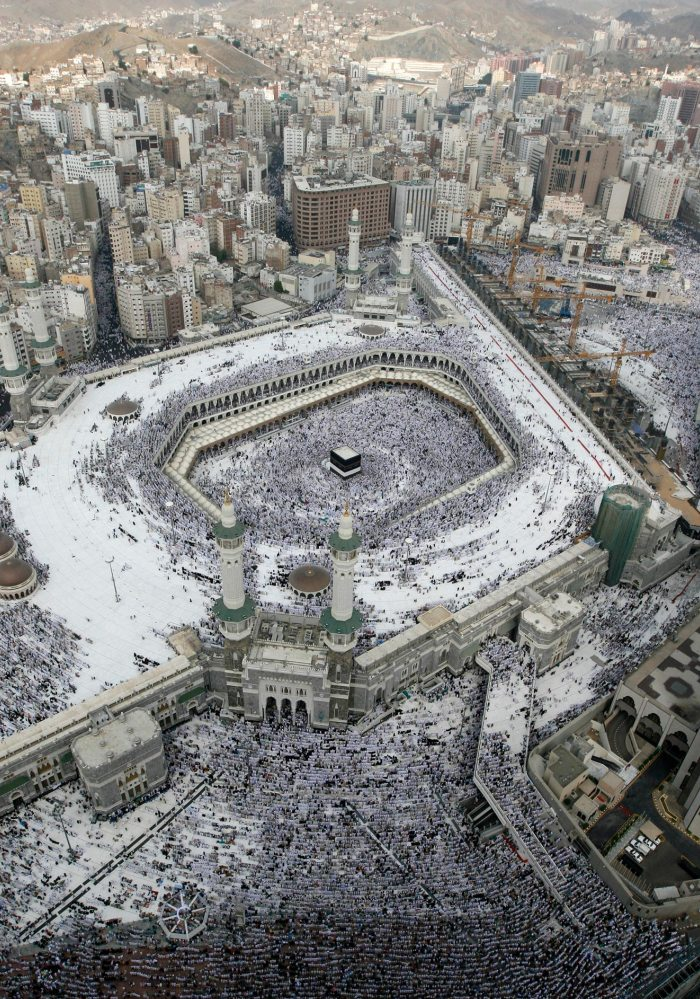 Middle East Travelling: Kaaba Black Stone