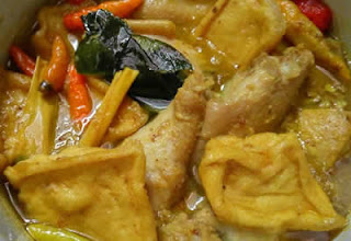 Resep Terik Ayam Tahu