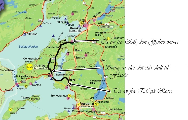kjøre kart VÅRT BRYLLUP: Kart kjøre kart