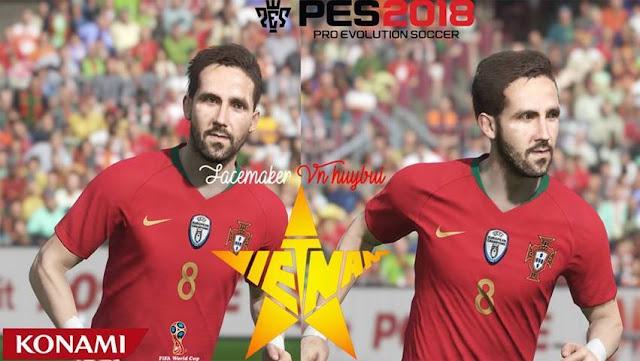 Joao Moutinho Face PES 2018