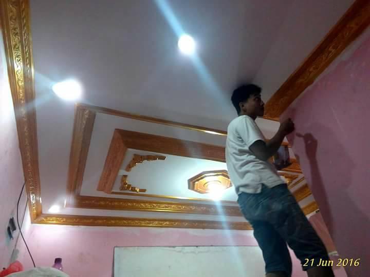 Contoh Gambar Plafon Gypsum Kamar Tidur  yuk percantik plafon rumah dengan profil list gypsum agar