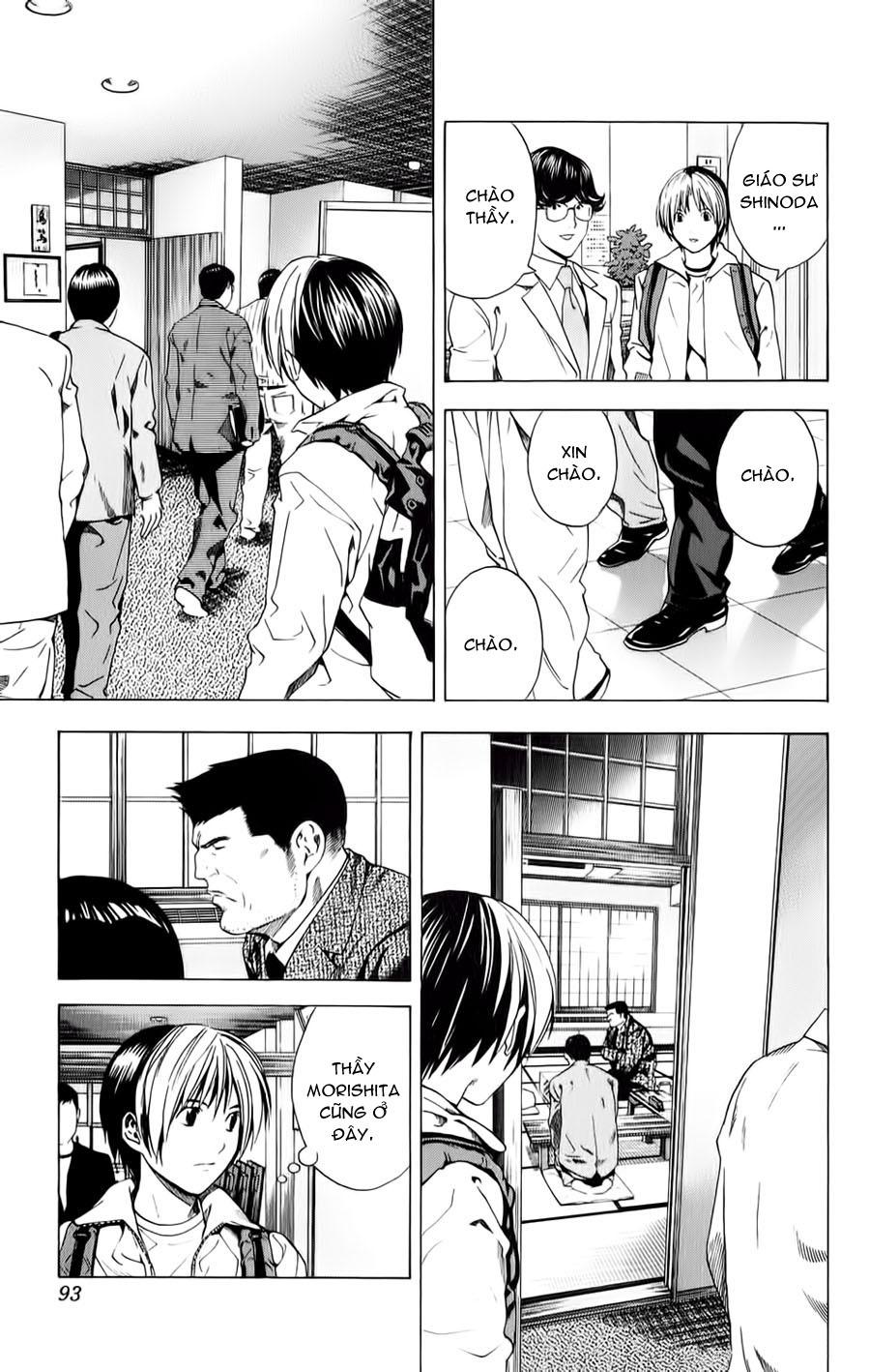 Hikaru No Go hikaru no go chap 152 trang 11