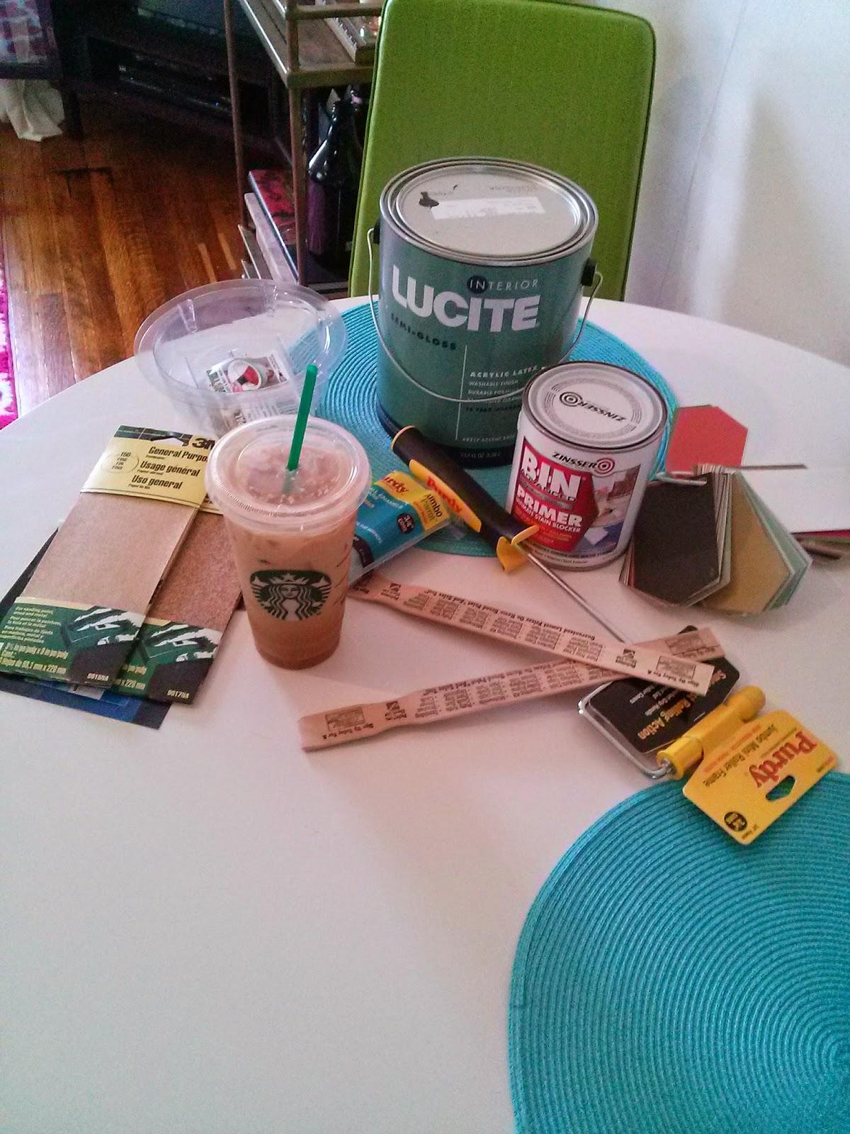 Paint Furniture Supplies Setup