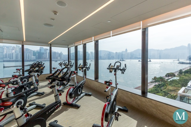 gym fitness center at Kerry Hotel Hong Kong