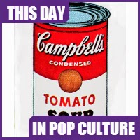 "Andy Warhol showed his art of ""Campbell's Soup Cans"" on July 9, 1962."